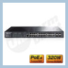 TP-Link JetStream� 24-port Gigabit L2 Managed PoE Switch